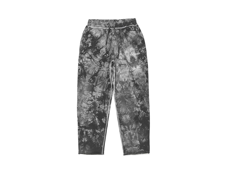 COTTON SWEAT TIE DYE LONG PANTS