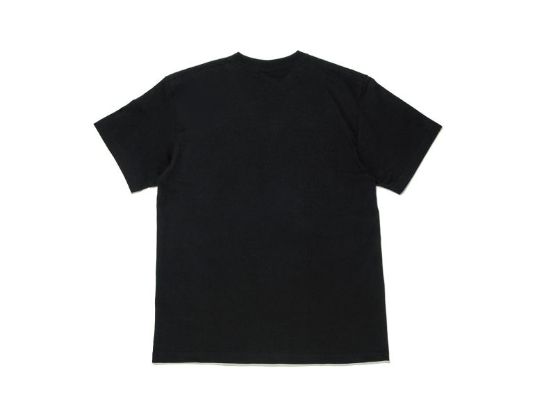 COTTON BIG LOGO PRINT HEAVY WEIGHT S/S TEE