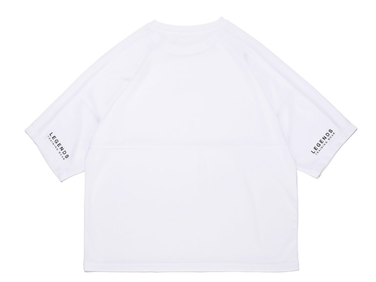 LEGENDS DRY BIG LETTERED TAG PRINT DOLMAN S/S TEE