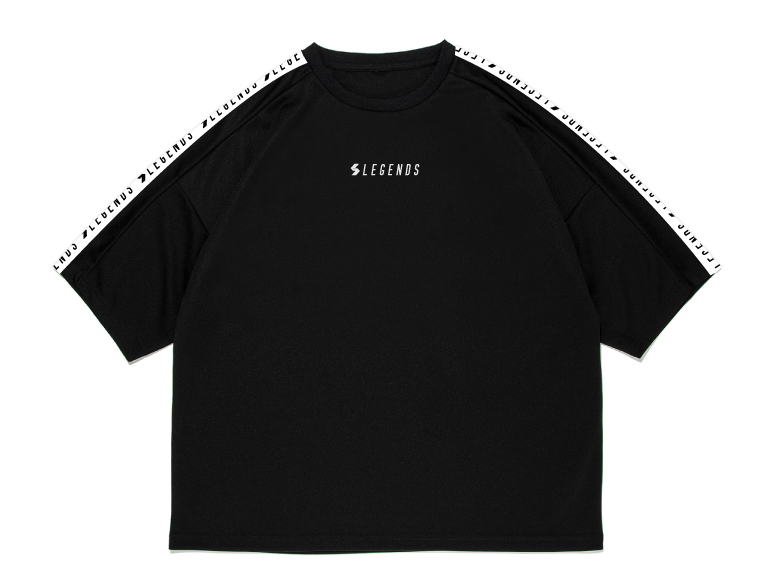LEGENDS DRY BIG LOGO TAPE DOLMAN S/S TEE