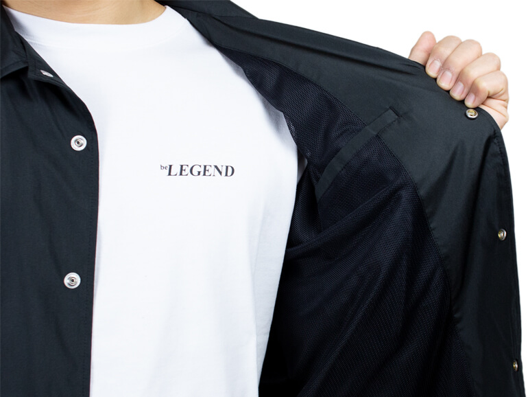 BE LEGEND NEW ERA CYL COACH JACKET