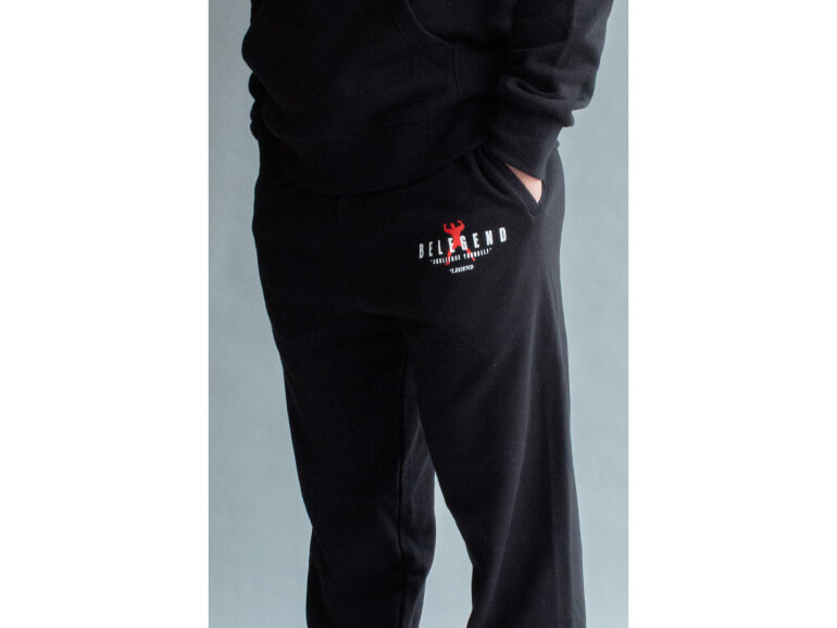 ビーレジェンド MUSCLE MAN LOGO LONG PANTS