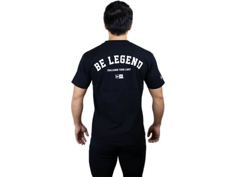 BE LEGEND NEW ERA CYL S/S TEE