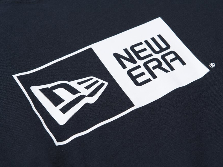 NEW ERA COTTON TEE BOXLOGO